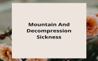 Mountain And Decompression Sickness
