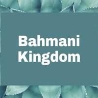 Write a short note on the Bahmani Kingdom?