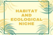 Habitat and Ecological Niche
