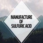Manufacture of Sulfuric Acid