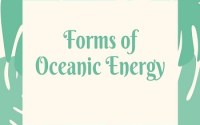 Forms of Oceanic Energy