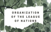 Organization of the League of Nations