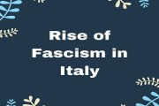 Causes of the Rise of Fascism in Italy