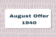 August Offer 1940