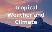 Tropical Weather and Climate