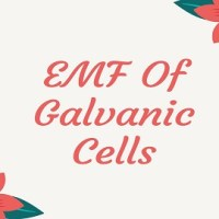 EMF Of Galvanic Cell