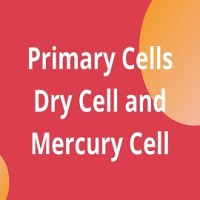 Primary Cells- Dry Cell and Mercury Cell