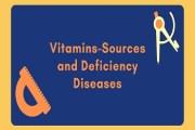 Vitamins-Sources and Deficiency Diseases