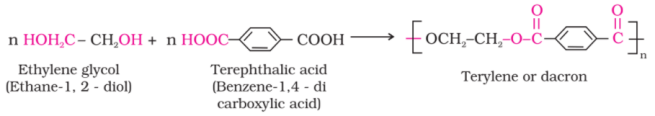 dacron reaction - Preparation and Uses of Some Important Polymers