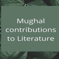 Mughal contributions to Literature