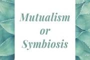 Mutualism or Symbiosis