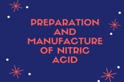 Preparation and Manufacture of Nitric Acid