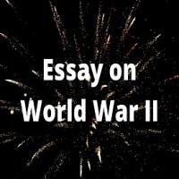 Essay on World War II