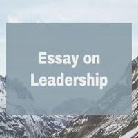Essay on Leadership