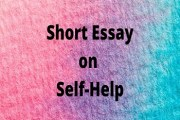 Short Essay on Self-Help
