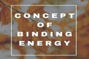 Concept of Binding Energy