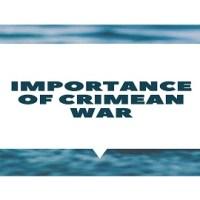 Importance of Crimean War