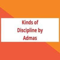 Kinds of Discipline by Admas