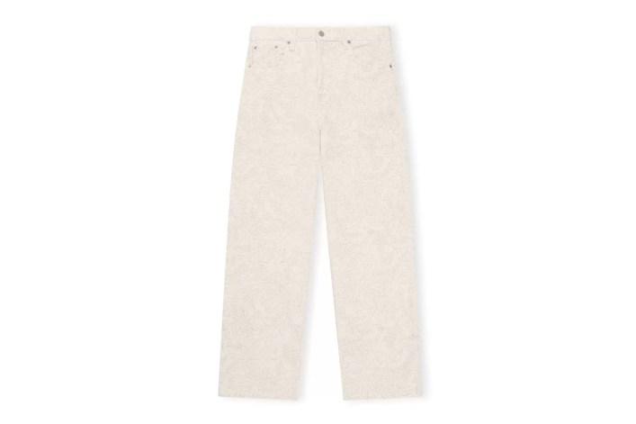 Ganni X Levi's Printed Denim Jeans, £225, Ganni