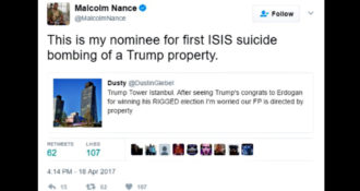 MSNBC Analyst Encourages ISIS to Bomb Trump Tower