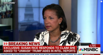 """Surprise! Only 2 Democrats have Actually made Any Effort to Examine Evidence in Susan Rice """"Unmasking"""" Scandal"""