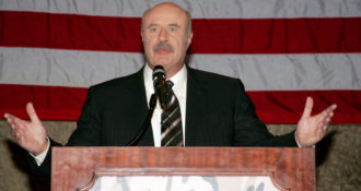 Dr. Phil Speaks Out Against Violent Liberal Protests Shutting Down Free Speech