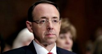 Respected Assistant Attorney General Rod Rosenstein Stands by His Advice to Fire James Comey 'I wrote. I Believe it. I stand by it.'