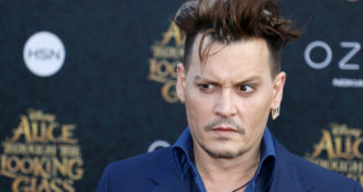 """Johnny Depp in Hot Water for """"Joking"""" about Assassinating President Trump"""