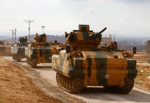 First Turkish military convoy enters Syria's Idlib