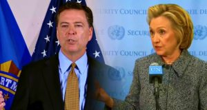 Comey-Clinton Collusion Detailed in Latest Report on Private Server