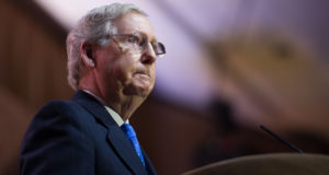 """Roy Moore tells Mitch McConnell to """"Step Down"""""""