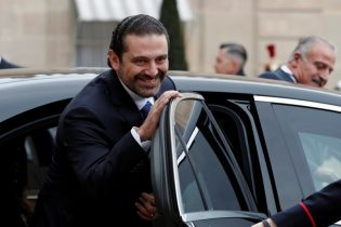 Lebanon's Hariri to visit Egypt on Monday: leader in Future Movement