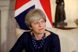 Plot to kill British premier May foiled: Sky News
