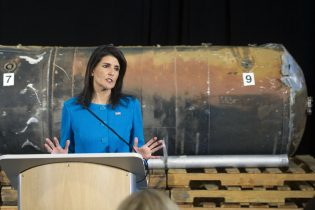 Haley: Missile Found in Yemen Undeniable Proof Iran Violated U.N. Resolution