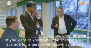 """Grotesque: Watch as Down Syndrome Man told how """"Expensive"""" he is to Society"""