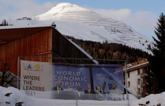 Swiss mountain town Davos relishing in Trump spotlight