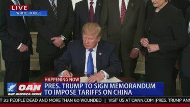 BREAKING: President Trump Imposes New Tariffs on China