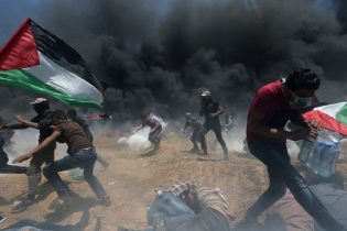 Gazans bury dead after bloodiest day of Israel border protests