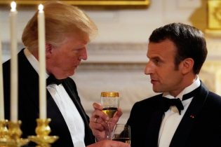 French at growing odds with U.S. despite Macron's 'BFF' tactics on Trump