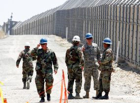Report: 736 More Nat'l Guard Troops Heading to U.S.-Mexico Border