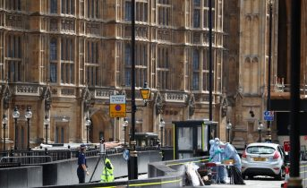 Man held after incident at UK parliament arrested for attempted murder