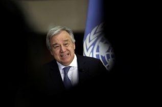 U.N. chief looks forward to North, South Korea talks in New York: spokesman