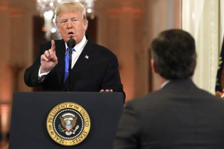 President Trump has heated showdown with CNN's Jim Acosta