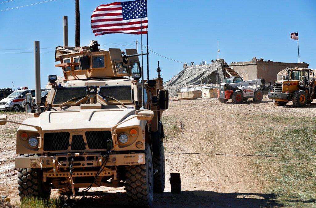 U.S. troops begin withdrawing from Syria
