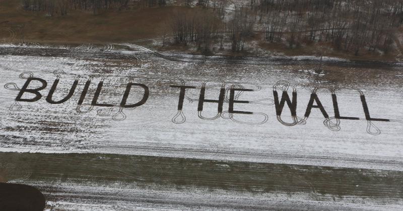 "Farmer Sends Trump Message Amid Border Fight: ""BUILD THE WALL"""