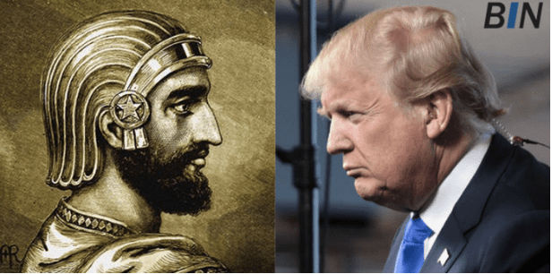 Trump Channeling Cyrus on Purim: US Will Recognize Israel's Sovereignty Over Golan