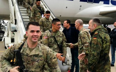 Pentagon sends over 300 troops to Germany for rapid-deployment drills
