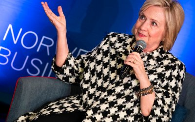Hillary Clinton discussed foreign policy with world leaders before becoming secretary of state