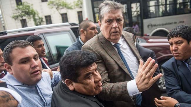 Former Peruvian President Shoots Himself As Police Raid Home