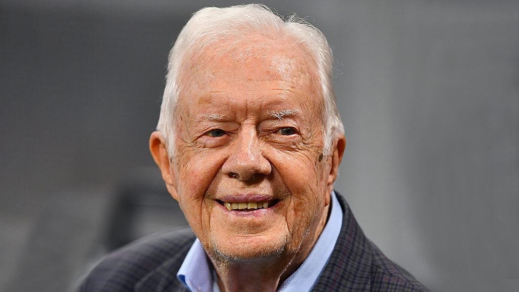 Jimmy Carter says Trump called him to discuss US-China relations
